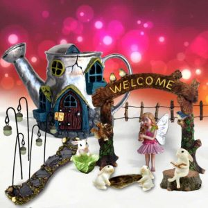 Silver Warren Fairy Garden Kit