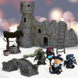 Wizards Watchtower Dragon Garden Kit
