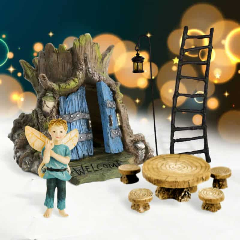 Dappled Wood Fairy Garden Kit