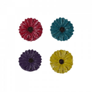 Colour Flower Stepping Stones