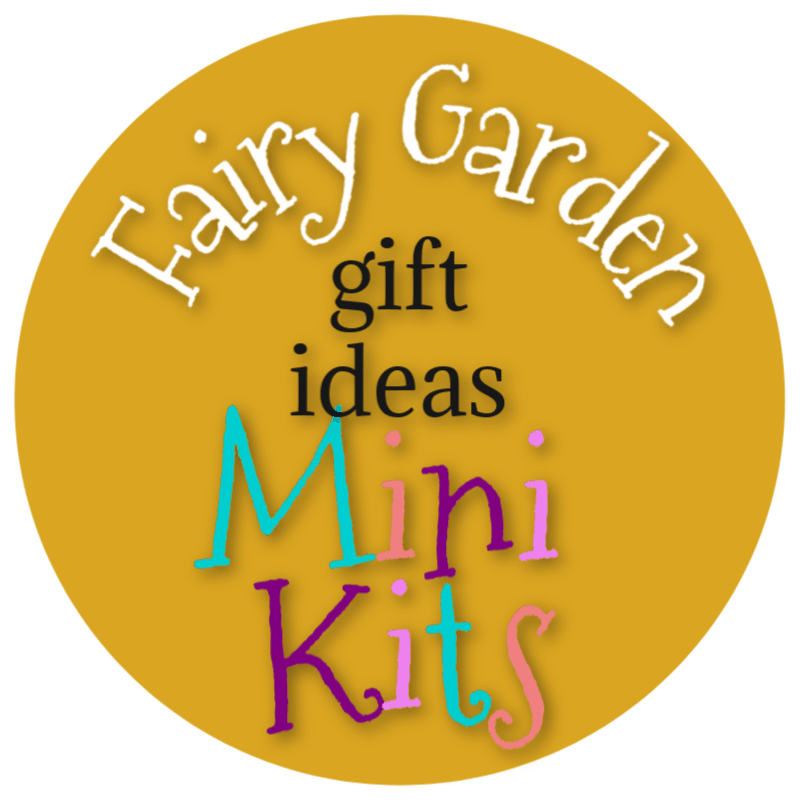 Fairy Garden Gift Ideas Mini Kits