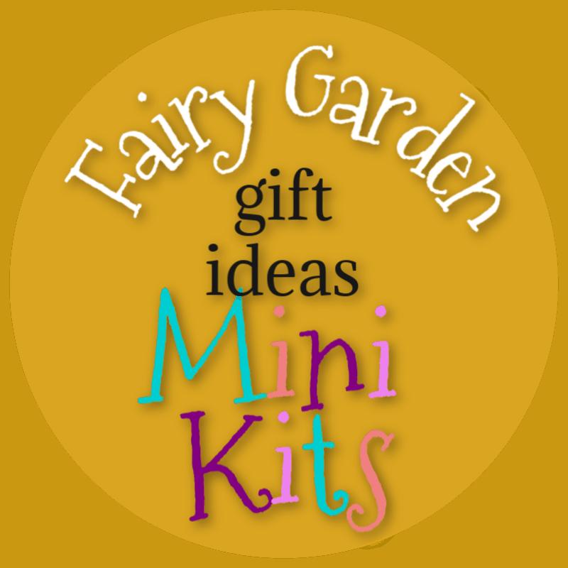 Fairy Garden Gift Ideas Mini Kits