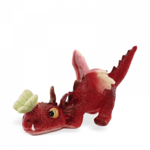 Baby Dragon with Butterfly/Red