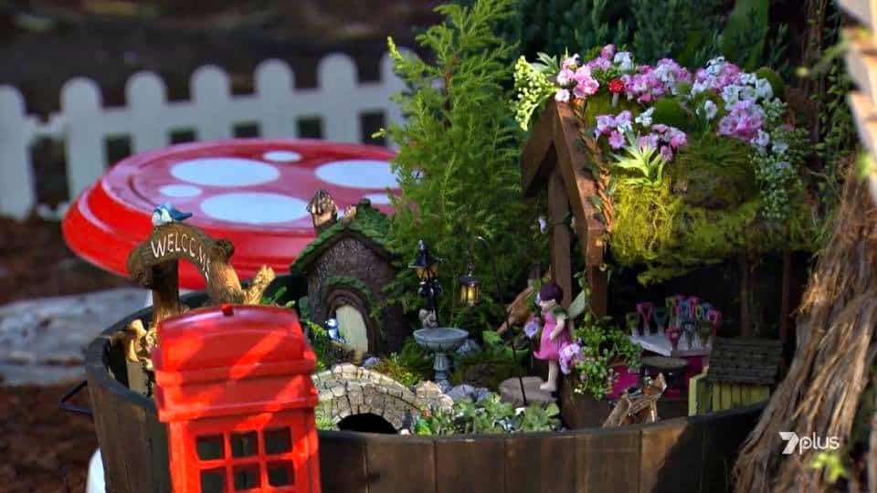 fairy garden makeover