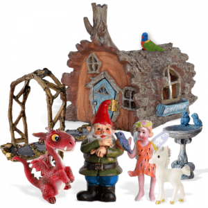 Forest Friends Fairy Garden Kit