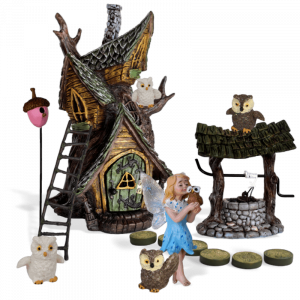 Hoot Hollow Fairy Garden Kit