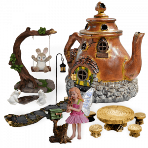Cottontail Corner Fairy Garden Kit