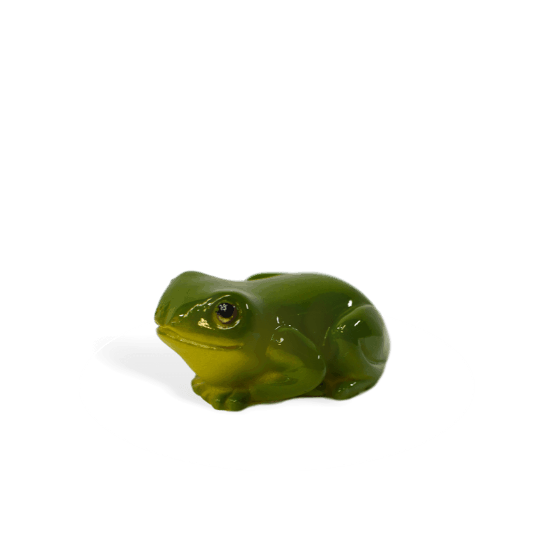 green forest frog
