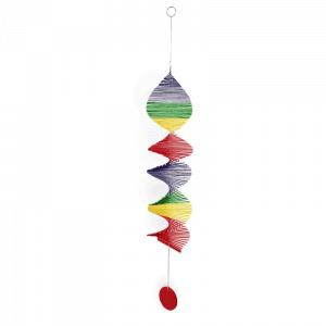 Rainbow Spiral Mobile
