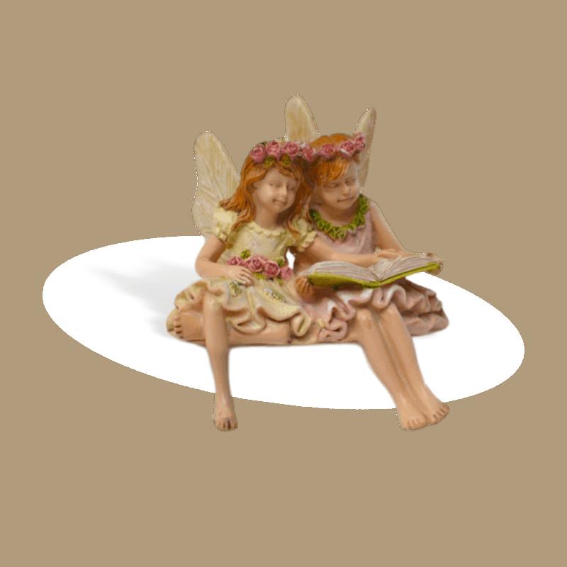 Fairies Paige and Phoebe