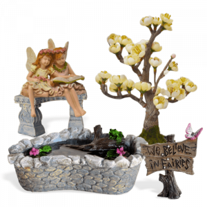 Sweet Sisters Fairy Garden Kit