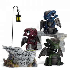 Three Rascals Dragon Garden Kit