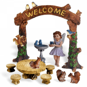 Welcome Home Fairy Garden Kit