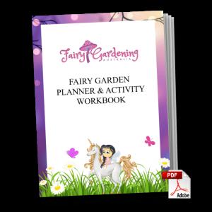 Fairy Garden Planner & Activity Workbook