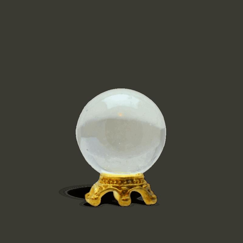 Miniature Crystal Ball