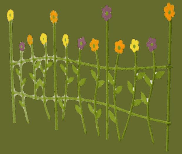 flower fence_side