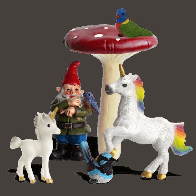 Rainbow Pastures Unicorn Garden Kit