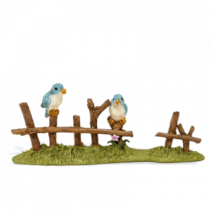 Birds on a Fence