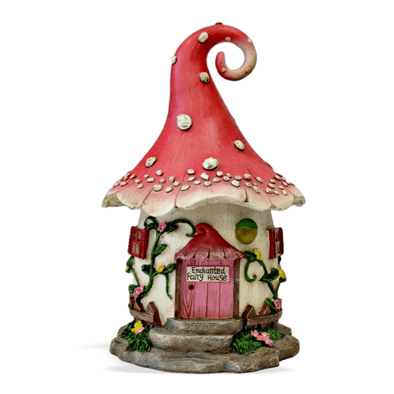 Enchanted Solar Fairy House