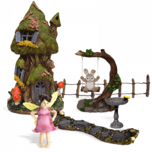 Marigold Burrow Fairy Garden Kit