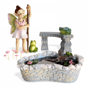 Flossy's Frogs Fairy Garden Kit