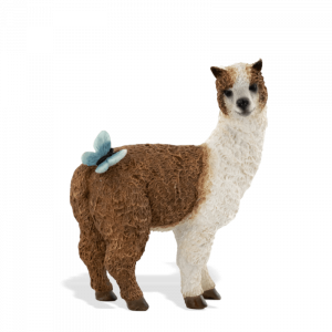 Llama with Butterfly