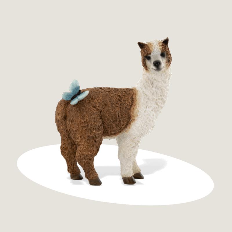 Llama with Butterfly_fga