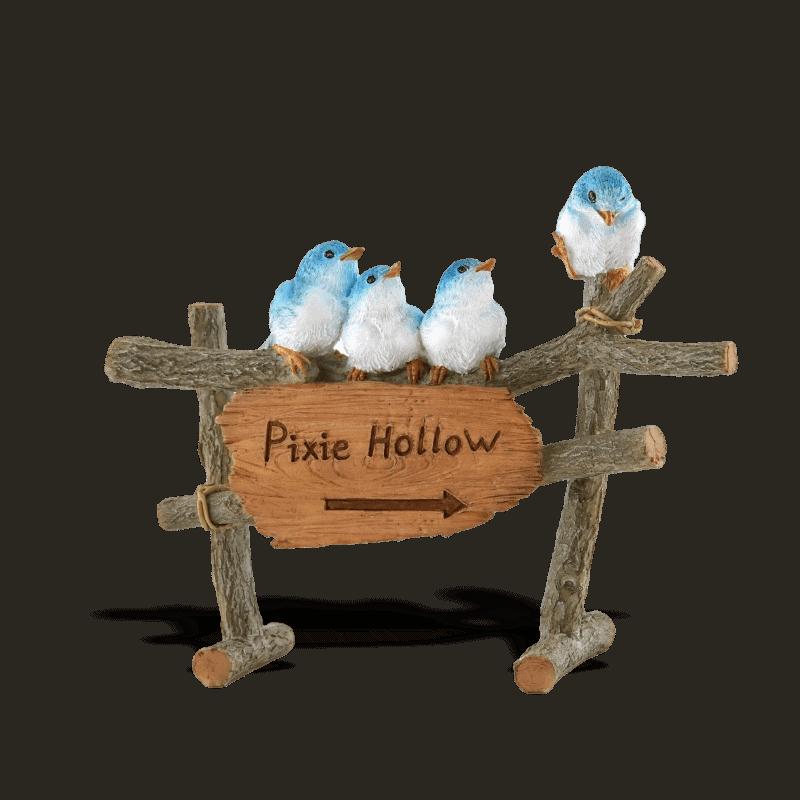 Pixie Hollow Fairy Garden Sign