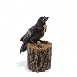 Raven on a Stump