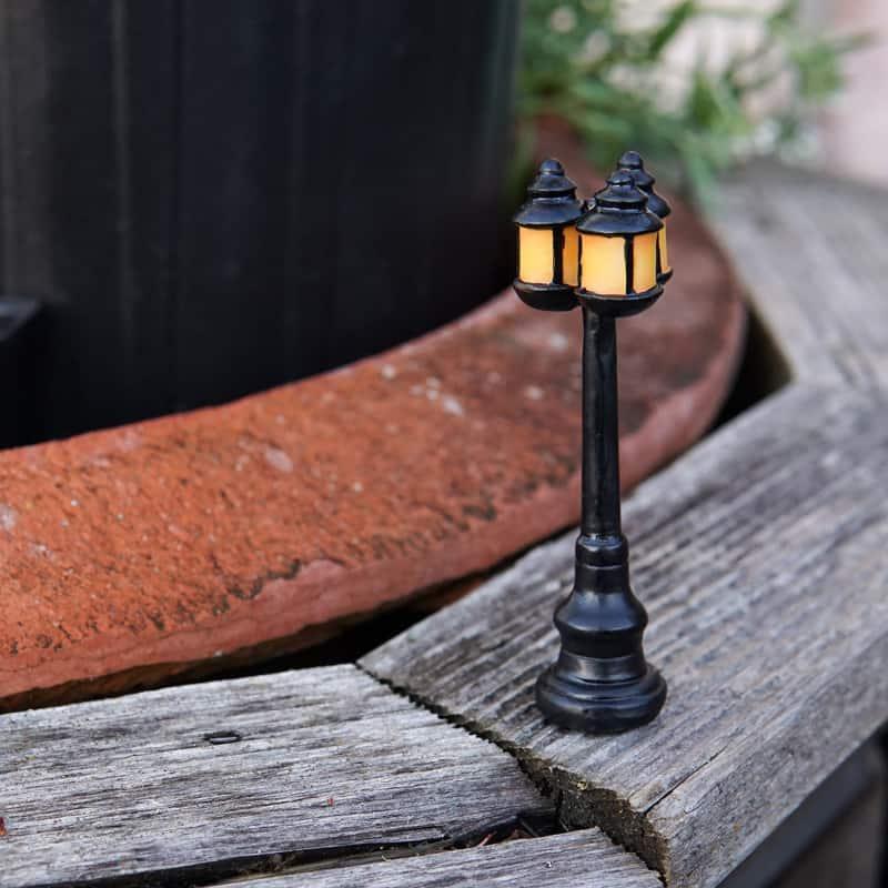 street lamp for fairy gardens