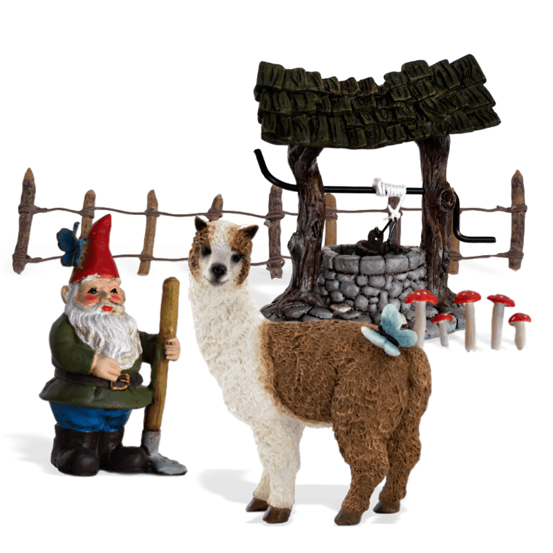 The Farmers Llama Enchanted Garden Kit