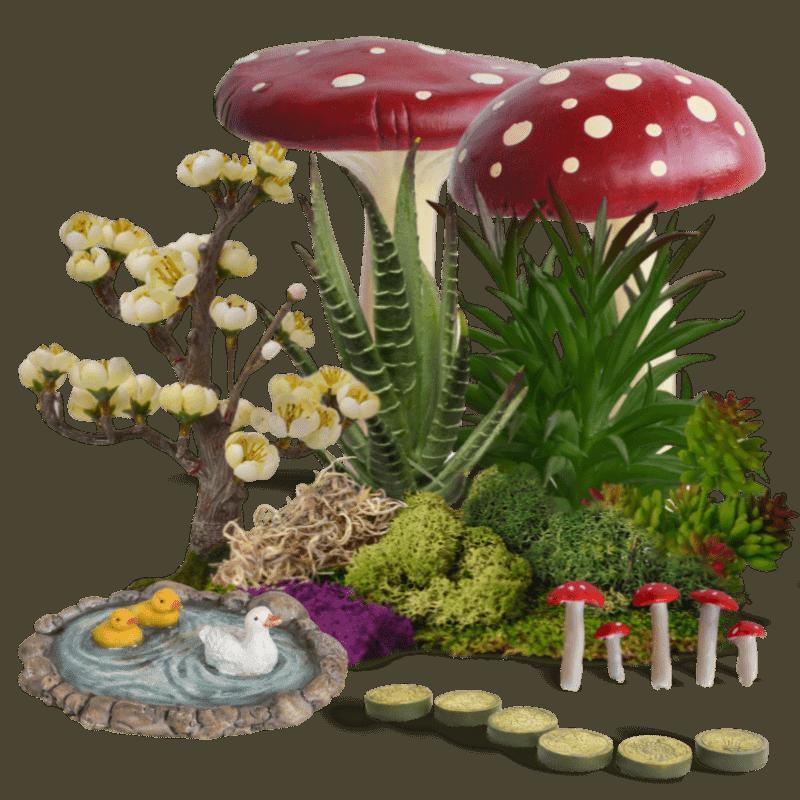 Fairy Garden Landscape