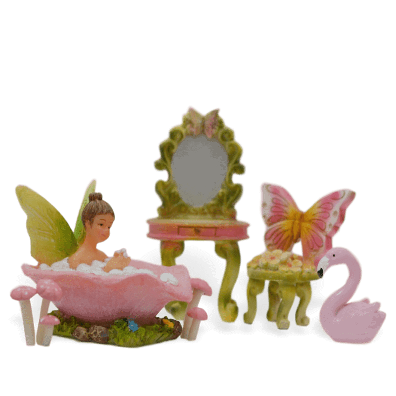 Bubbles and Bliss Fairy Garden Kit