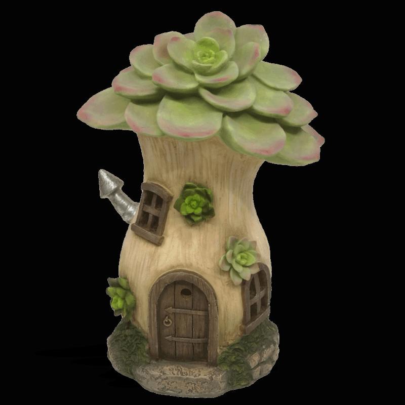 Echeverias Solar Fairy House