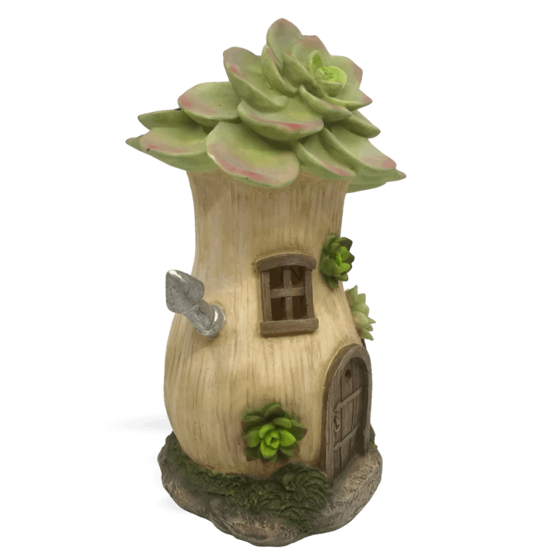 Echeverias Solar Fairy House_side_left