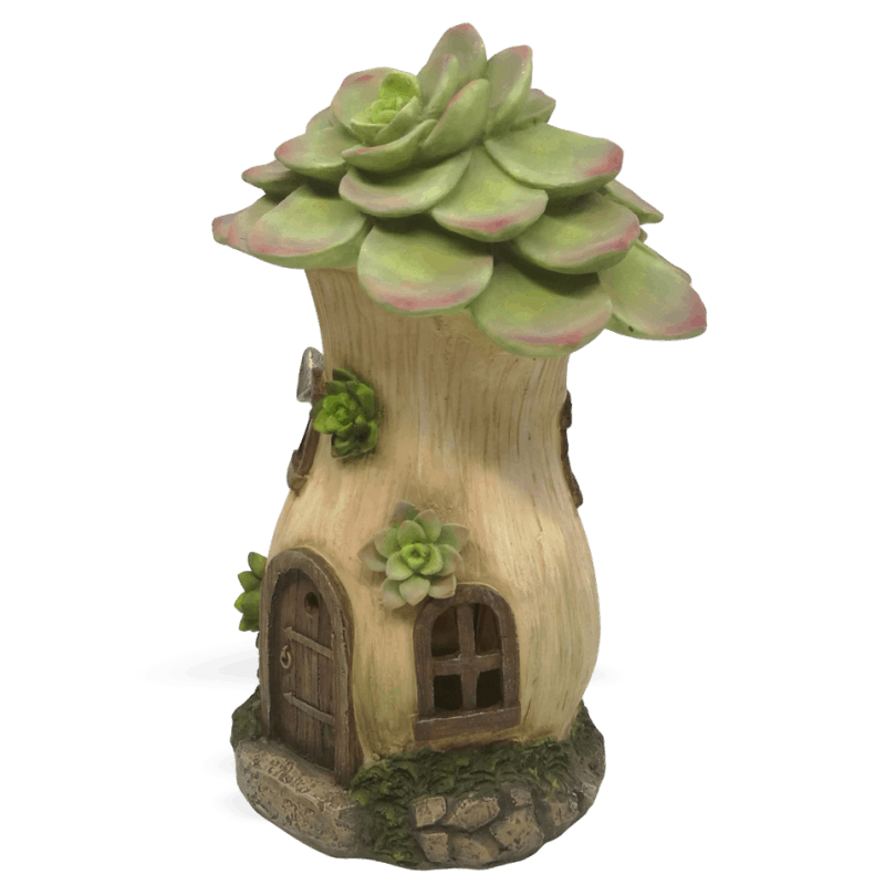 Echeverias Solar Fairy House_side_right