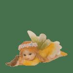 Garden Fairy with Bird