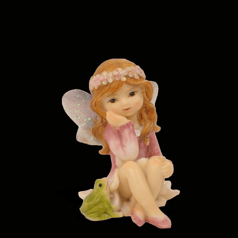Garden Fairy with Frog