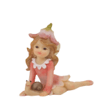 Garden Fairy with Snail