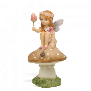 Garden Fairy with Tulip