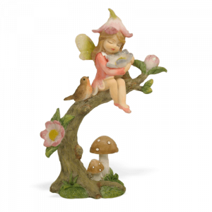 Garden Fairy with a Flower