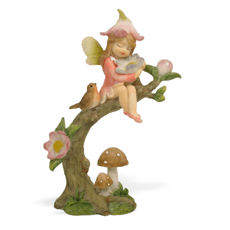 Garden Fairy with a Flower