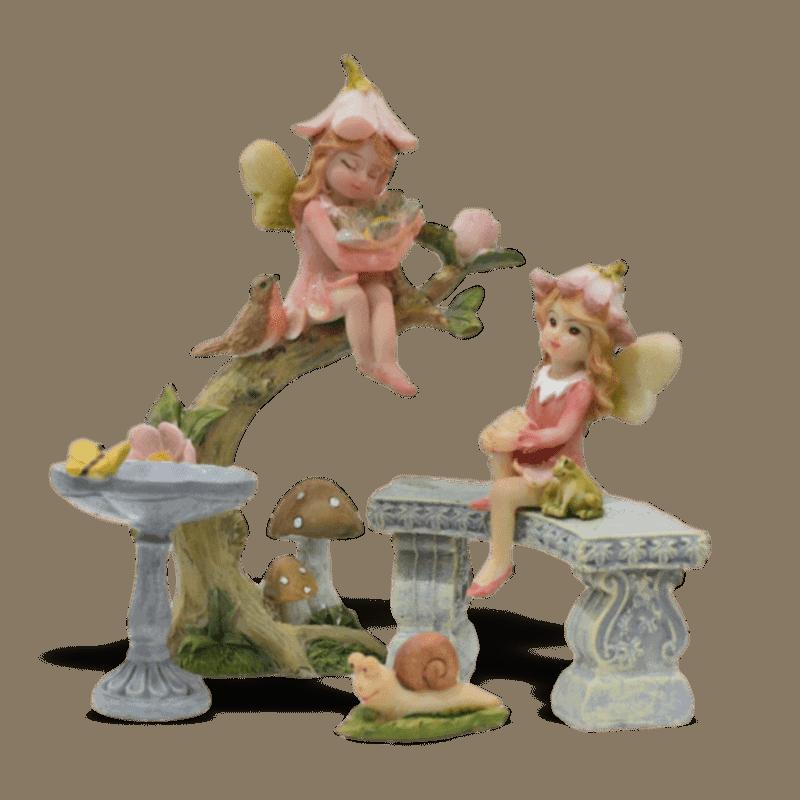 Graceful Grove Fairy Garden Kit