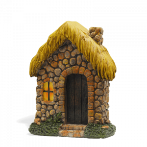 Thatched Fairy House
