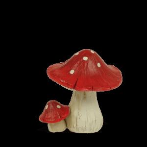 Red Mushroom – Round