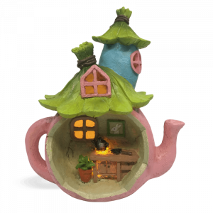 Teapot Solar Potting Shed