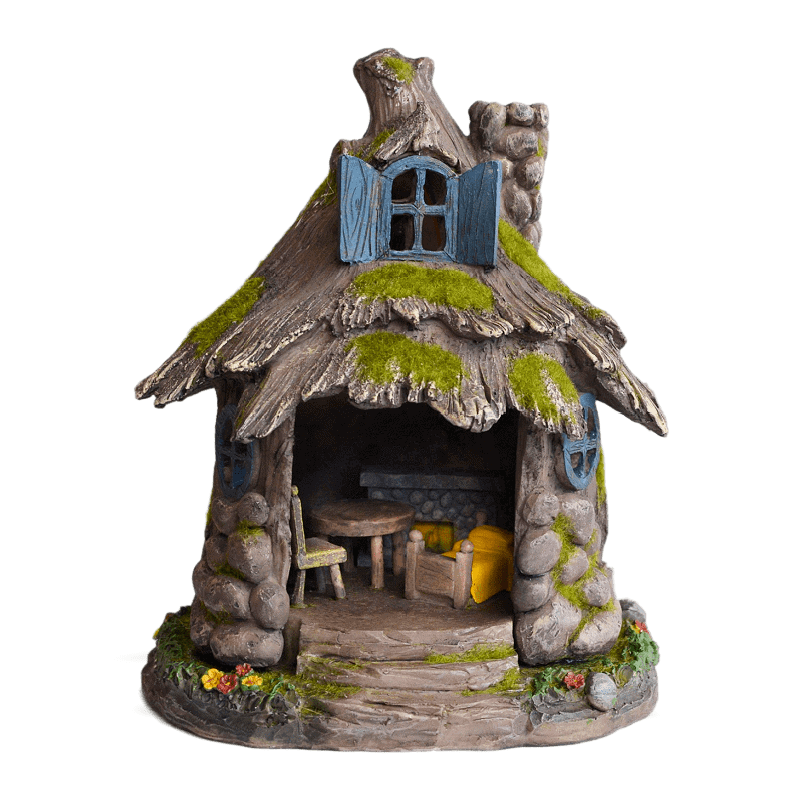 Greenwood Solar Fairy House