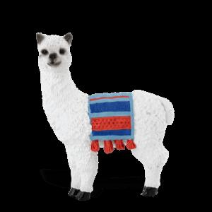 Llama with Blanket