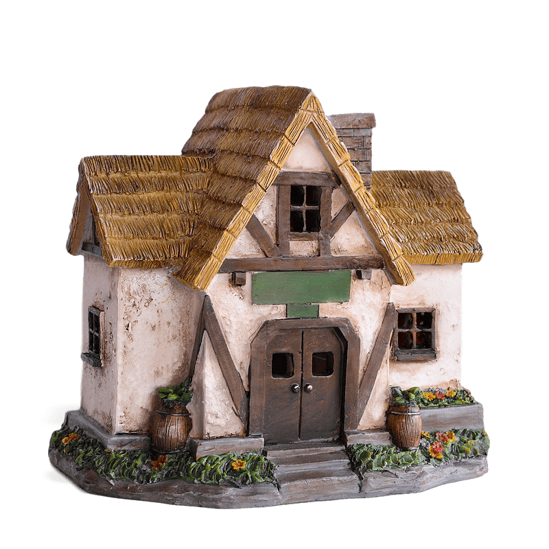 Lucerne Lodge Solar Fairy House