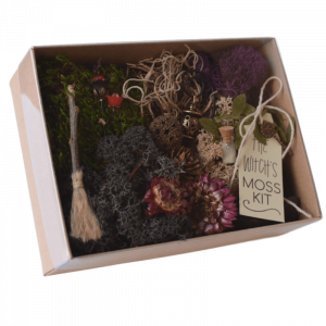 The Witches Fairy Garden Moss Kit